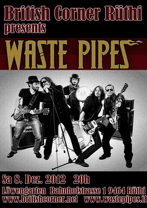 Waste Pipes Poster